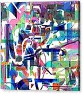 Tile Acrylic Print by Dave Kwinter