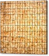 Tiled Wall Acrylic Print