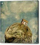 Tilted House Acrylic Print