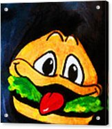Time For A Happy Burger Acrylic Print