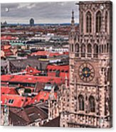 Time For Munich Acrylic Print