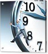 Time Problem Acrylic Print