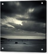 Time Acrylic Print by Stelios Kleanthous