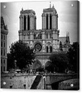 Timeless Notre Dame Acrylic Print