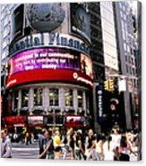 Times Square Corner Acrylic Print