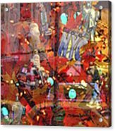 Times Square Reflections Acrylic Print