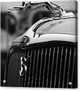 Timmis-ford V8 Greyhound Hood Ornament Acrylic Print