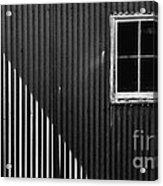 Tin Light And Window Acrylic Print