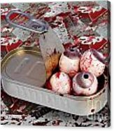Tin Of Eyes Acrylic Print