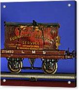 Tin Train Four Acrylic Print