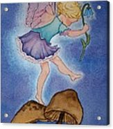 Tiptoe Fairy Acrylic Print
