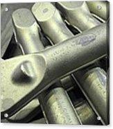Titanium Forgings Acrylic Print
