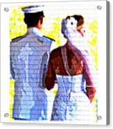 To Thee I Wed Acrylic Print