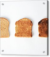 Toasting Bread Acrylic Print by Photo Researchers, Inc.