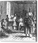 Tobacco Factory, 1873 Acrylic Print