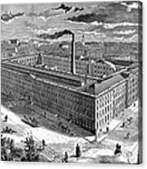 Tobacco Factory, 1876 Acrylic Print by Granger