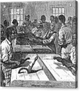 Tobacco: Twisting, 1879 Acrylic Print