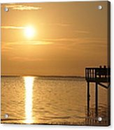 Together At Sunset Acrylic Print