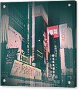 Tokyo Lights Acrylic Print