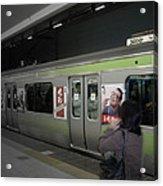 Tokyo Metro Acrylic Print by Naxart Studio