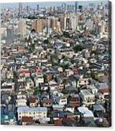 Tokyo Sprawl Acrylic Print