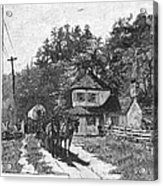 Toll Gate, 1879 Acrylic Print