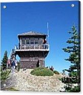 Tolmie Peak Lookout Acrylic Print