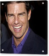 Tom Cruise At The Premiere Acrylic Print