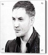 Tom Hardy Acrylic Print