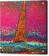 Tom Ray's Sailboat 3 Acrylic Print