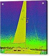 Tom Ray's Sailboat Acrylic Print