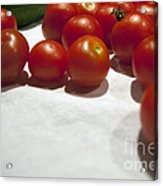 Tomato And Cucumber 1 Acrylic Print