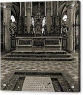 Tomb Of William The Conqueror Acrylic Print