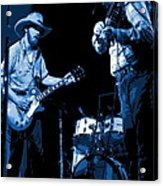 Tommy And Charlie Play Some Blues At Winterland In 1975 Acrylic Print