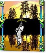 Amber Lake #2 Acrylic Print