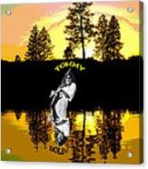 Amber Lake #3 Acrylic Print
