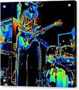 Getting Very Electric At Winterland In December 1975 Acrylic Print