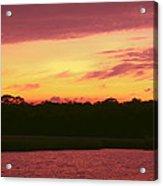 Tomoka River Sunset Acrylic Print
