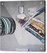 Toothpaste Acrylic Print