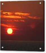 Top End Sunset  Acrylic Print