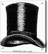 Top Hat, 1900 Acrylic Print