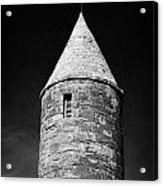 Top Of Irish Round Tower Acrylic Print