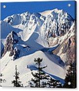 Top Of Mt. Hood Acrylic Print