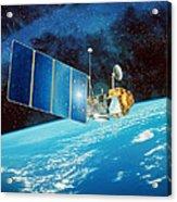Topex/poseidon Satellite Acrylic Print