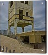Topsail Island Observation Tower 6 Acrylic Print