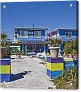 Topsail Island Patio Playground Acrylic Print