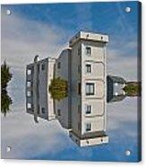 Topsail Island Tower Reflection Acrylic Print