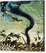Tornado, 19th Century Acrylic Print