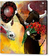 Toro Bravo Acrylic Print