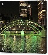 Toronto City Hall At Night Acrylic Print
